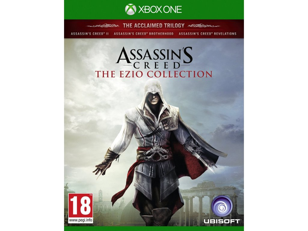 assassins creed the ezio collection borito xbox one 576kb 1