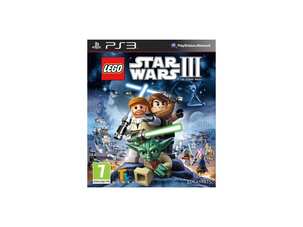 PS3 Lego Star Wars 3 Clone Wars