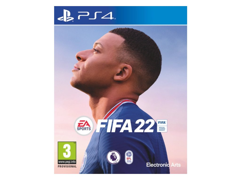 PS4 FIFA 22 CZ