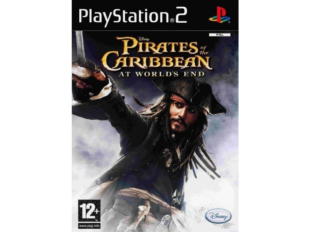 PS2 Pirates of the Caribbean At Worlds End