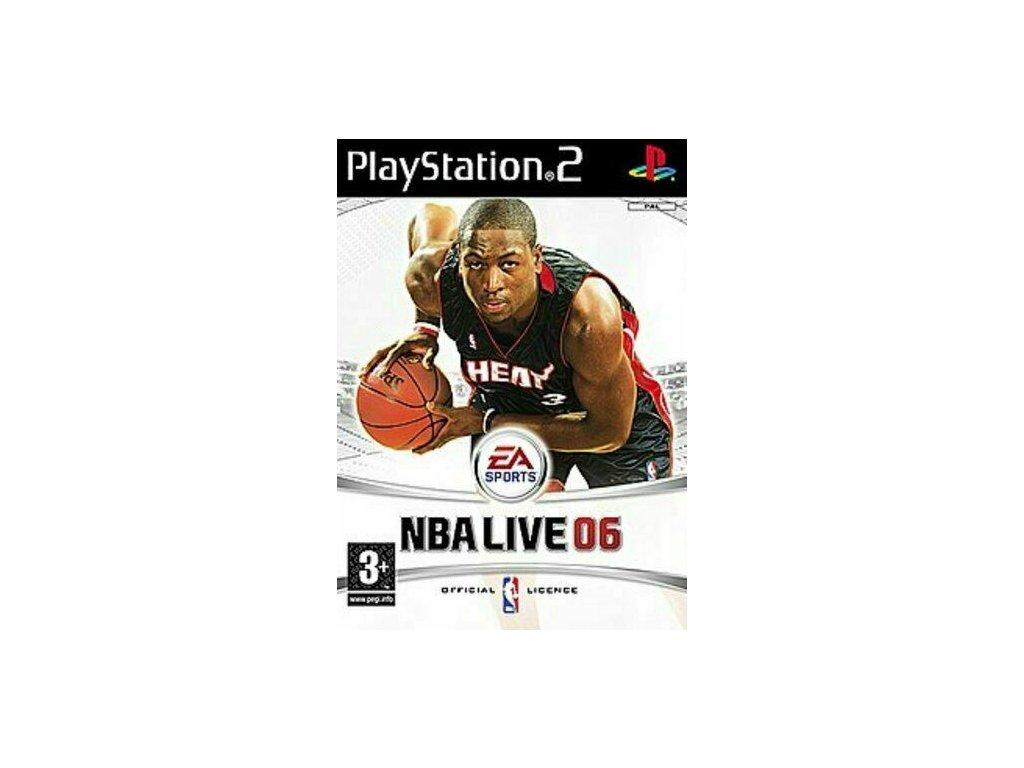 PS2 NBA LIVE 06
