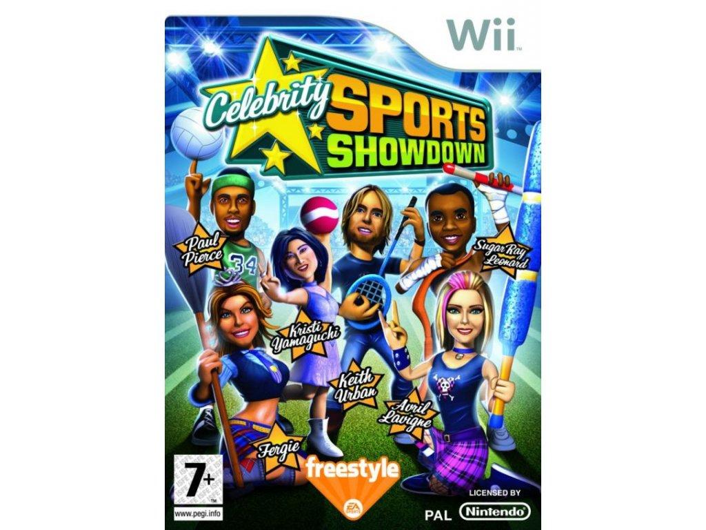 Wii Celebrity Sports Showdown