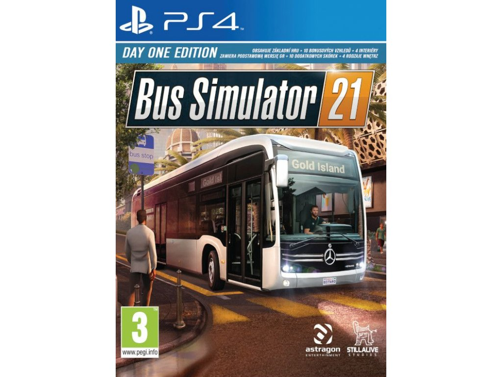PS4 Bus Simulator 21 Day One Edition