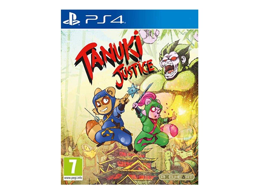 PS4 Tanuki Justice