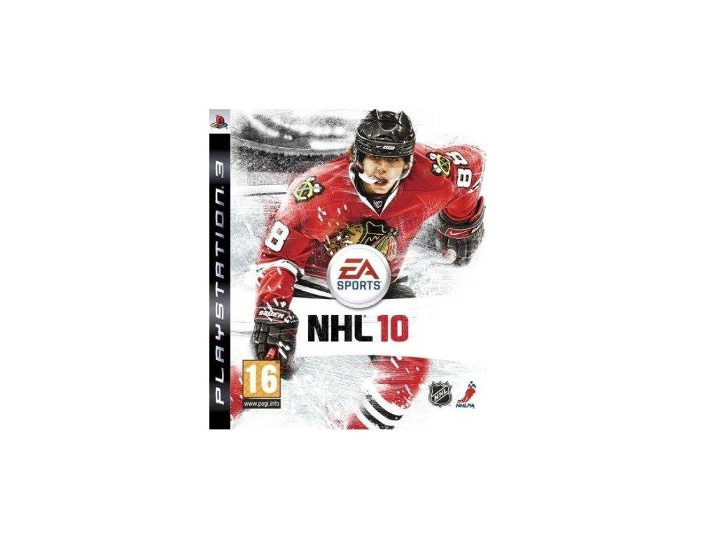 PS3 NHL 10 CZ