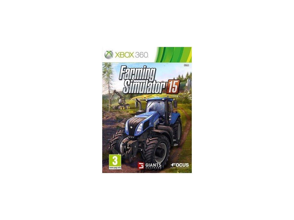X360 Farming Simulator 15
