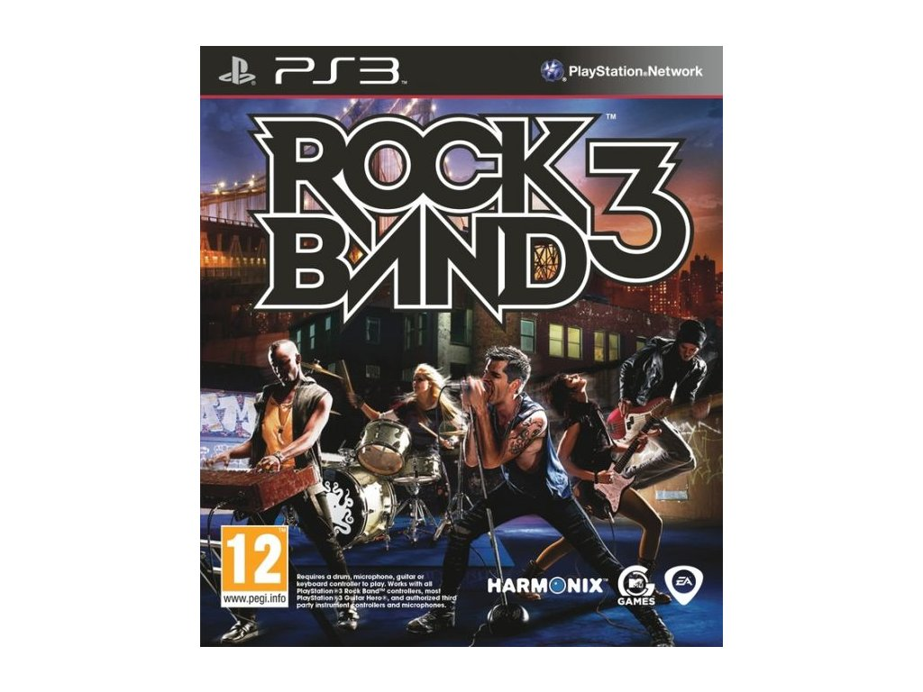 PS3 Rock Band 3