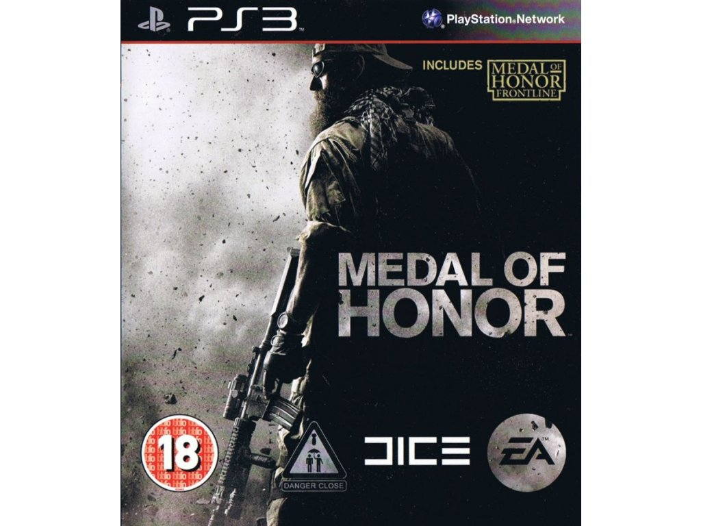 209761 medal of honor playstation 3 front cover
