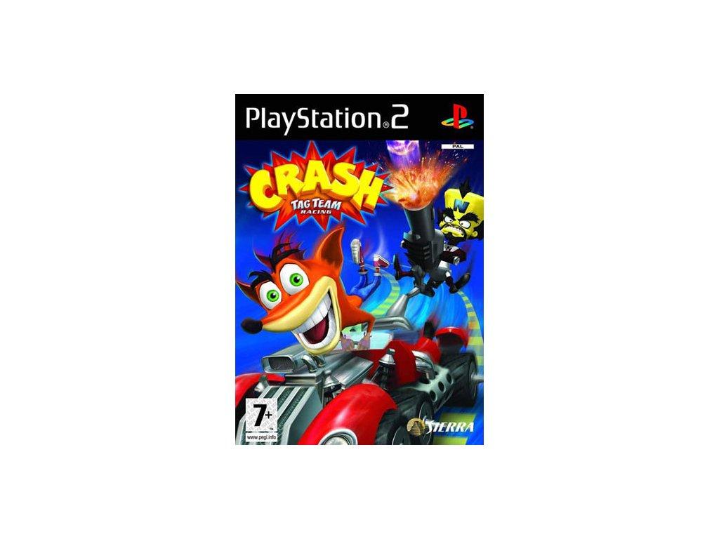 PS2 Crash Tag Team Racing