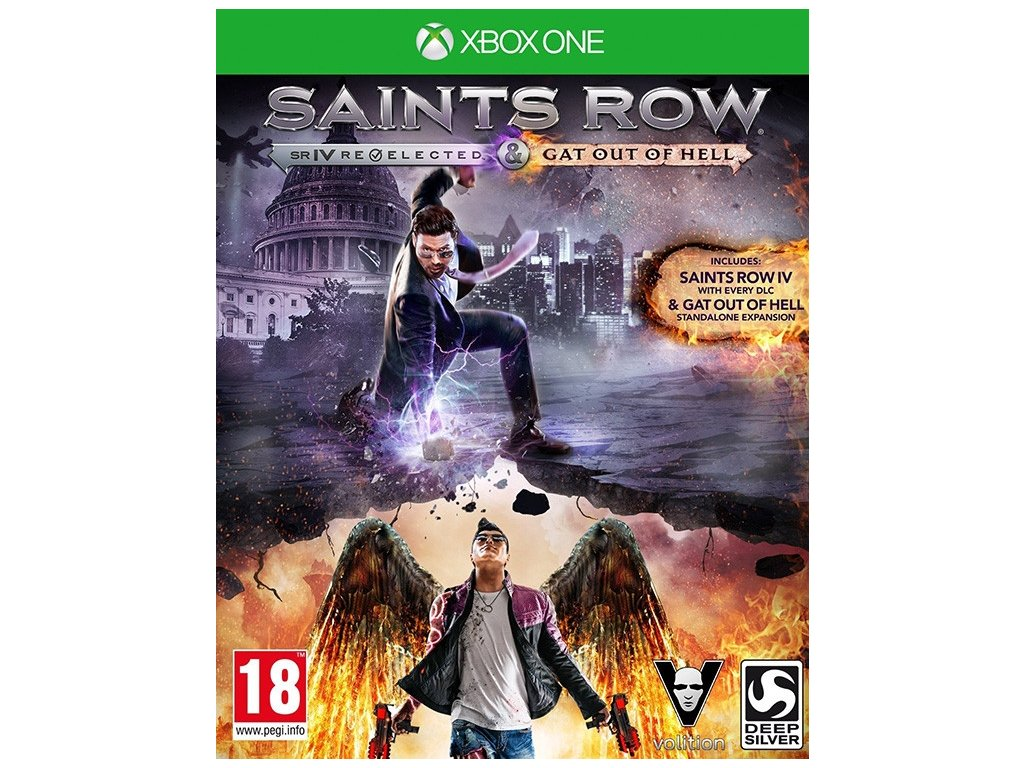 XONE Saints Row 4 Re Elected + Gat Out of Hell