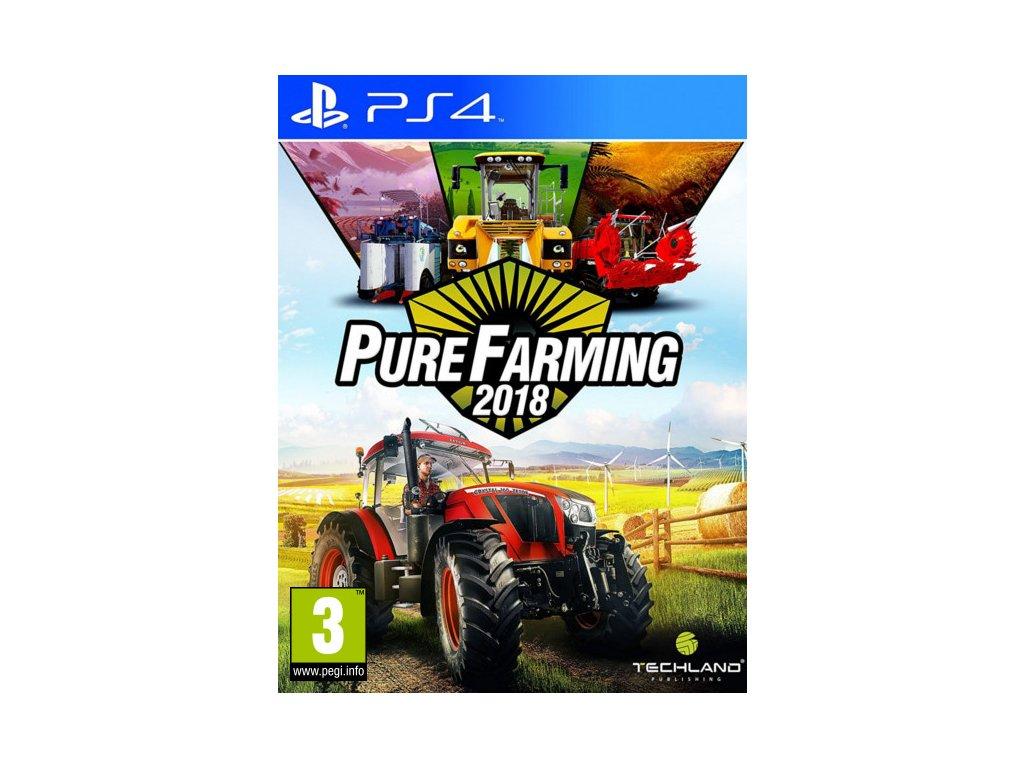 PS4 Pure Farming 2018 CZ Nové