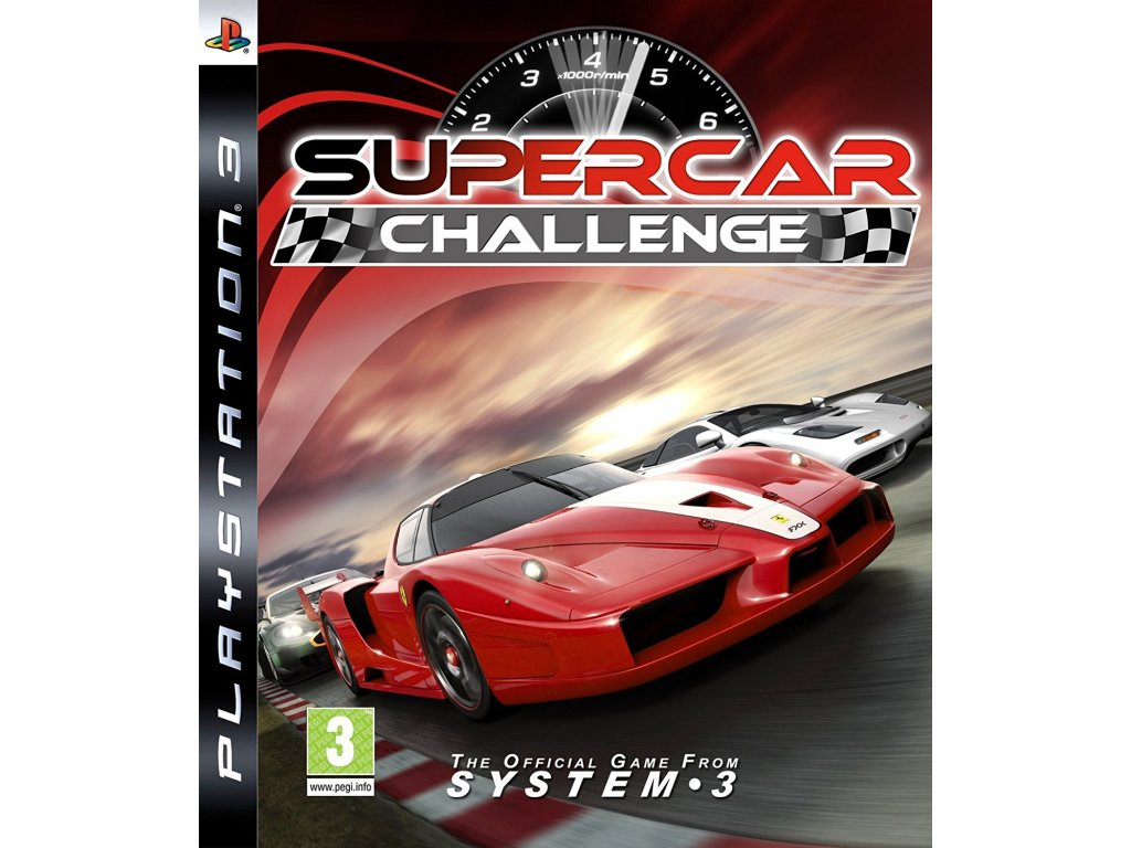 PS3 SuperCar Challenge