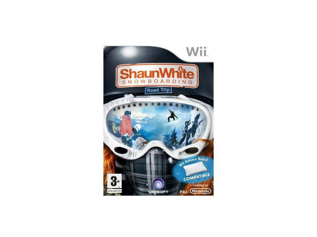 Wii Shaun White Snowboarding Road Trip