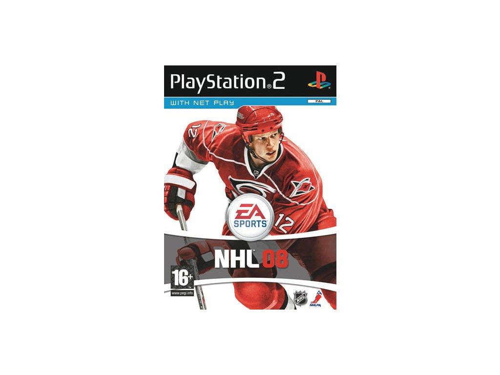 PS2 NHL 08 CZ