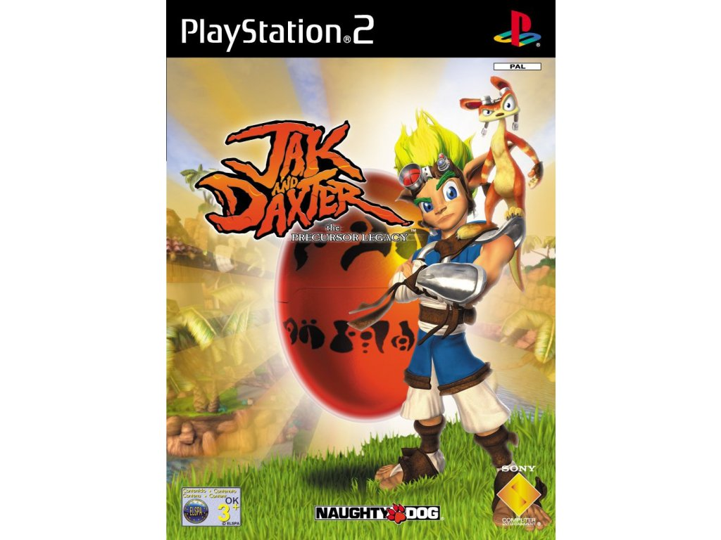 PS2 Jak and Daxter The Precursor Legacy