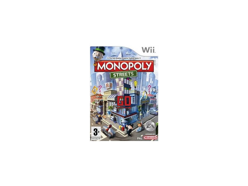 Wii Monopoly Streets
