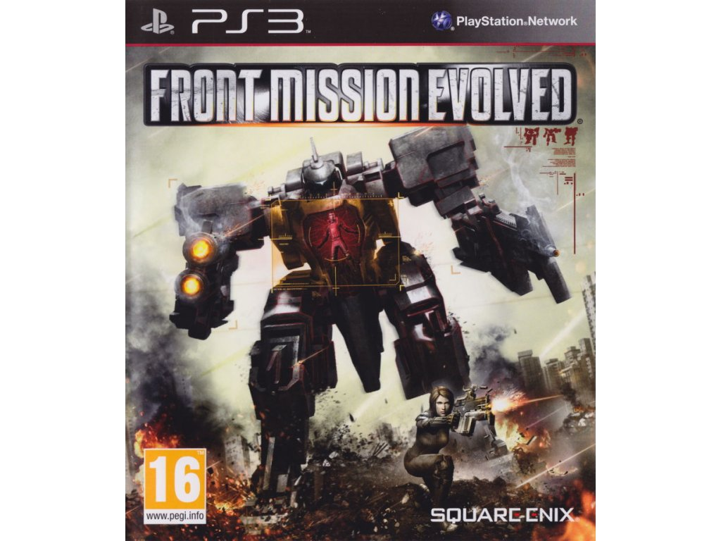 229346 front mission evolved playstation 3 front cover