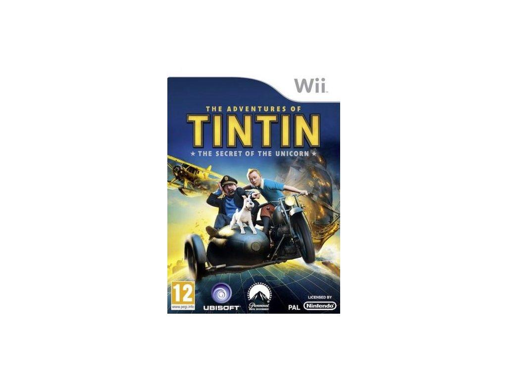 Wii The Adventures of Tintin The Secret of the Unicorn