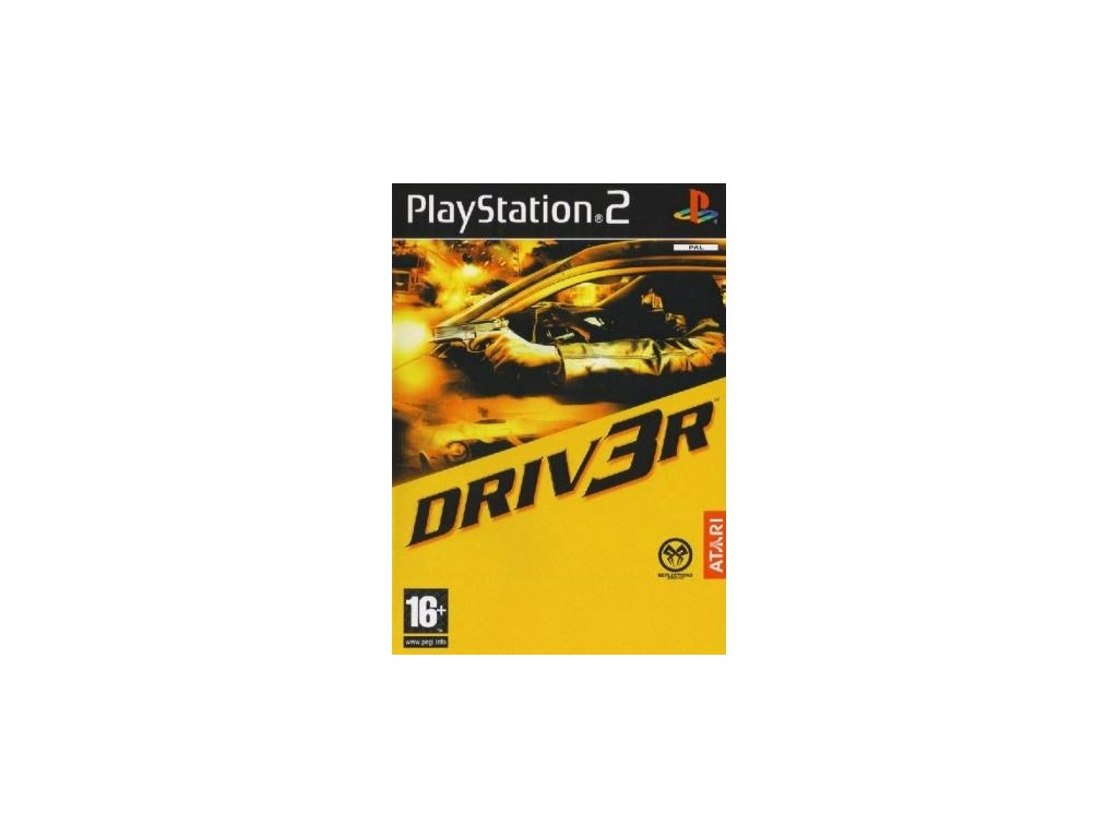 PS2 DRIV3R - Driver
