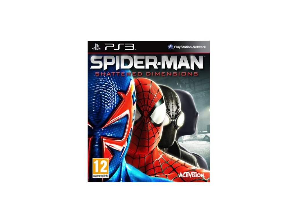 PS3 Spider-Man Shattered Dimensions