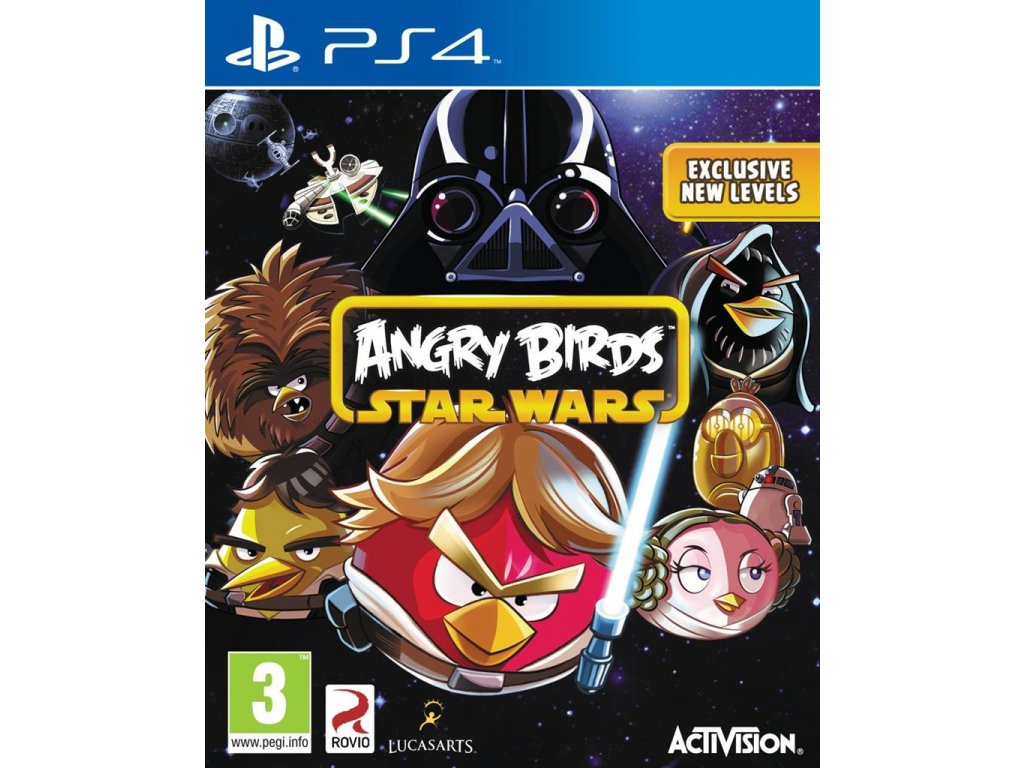 PS4 Angry Birds Star Wars