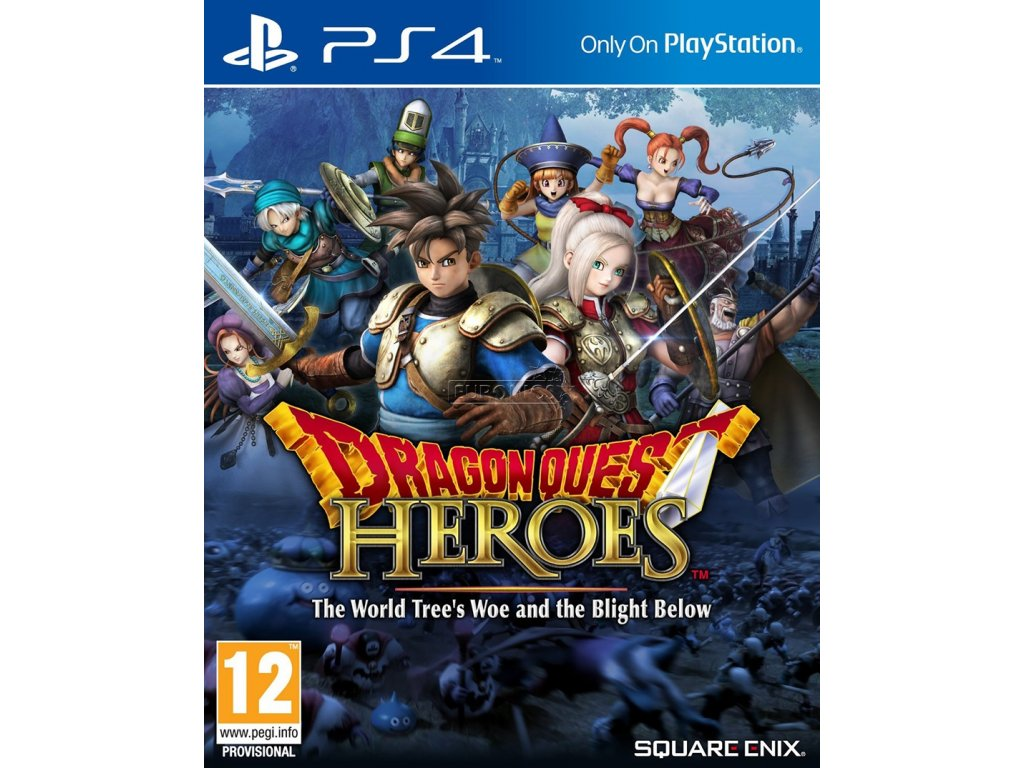 PS4 Dragon Quest Heroes: The World Trees Woe and the Blight Below