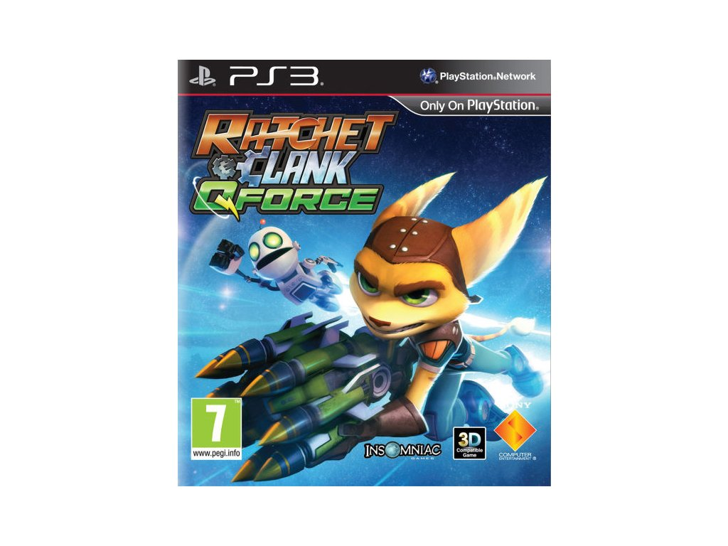 PS3 Ratchet and Clank Q-Force