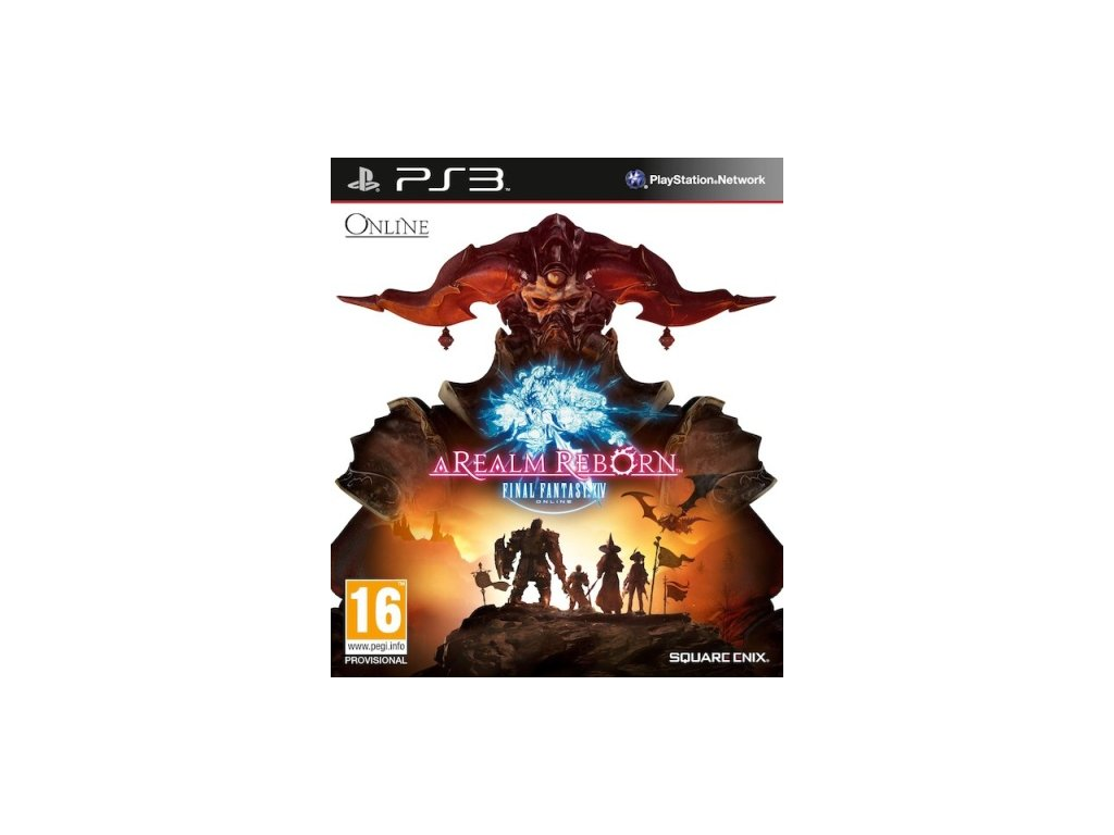 PS3 A Realm Reborn Final Fantasy XIV