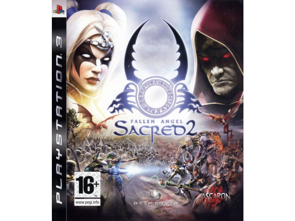 153872 sacred 2 fallen angel playstation 3 front cover