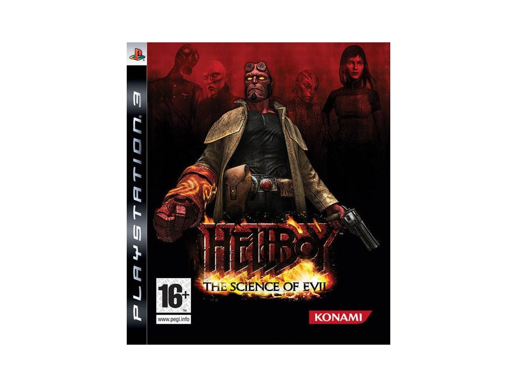 PS3 Hellboy The Science Of Evil
