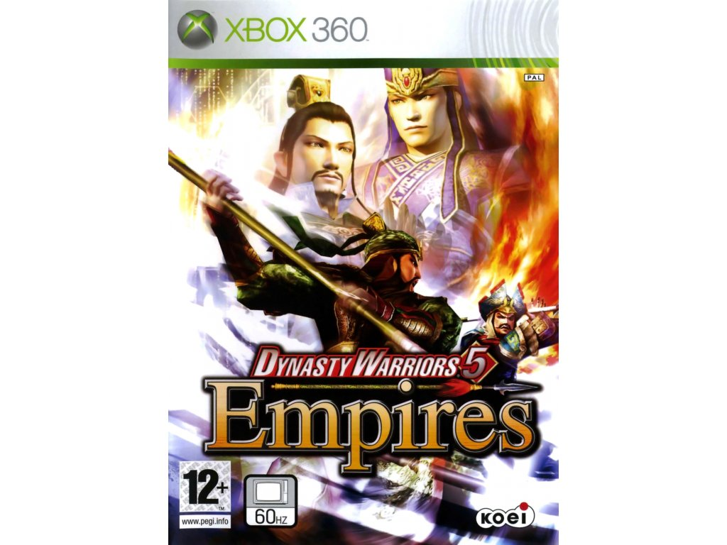 X360 Dynasty Warriors 5 Empires
