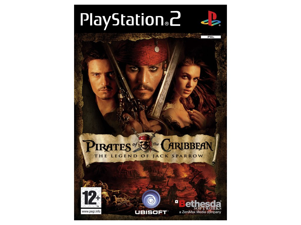 PS2 Pirates Of The Caribbean The Legend Of Jack Sparrow