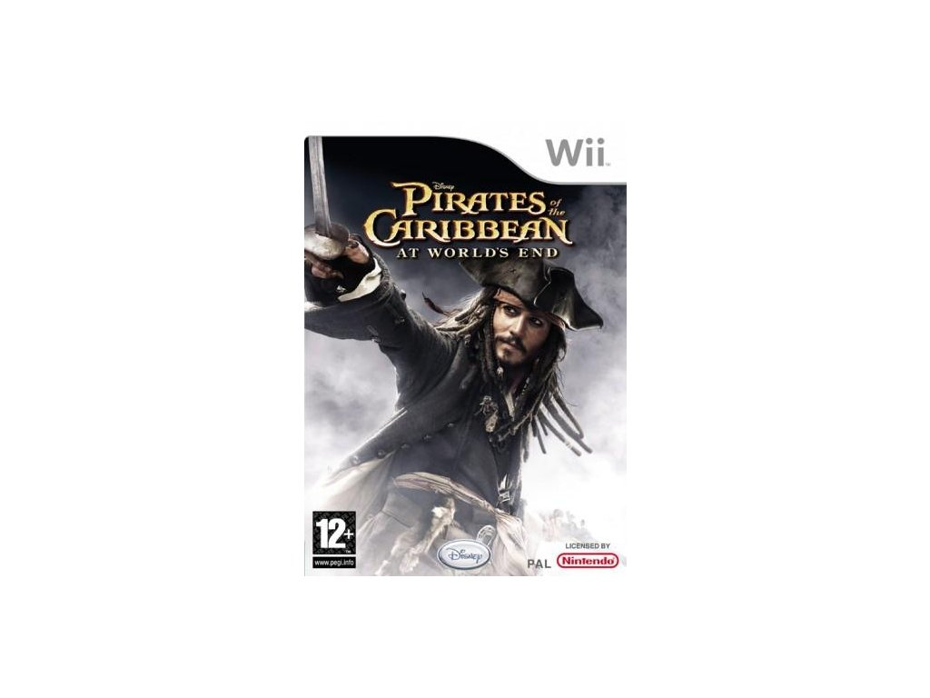 Wii Pirates of the Caribbean At Worlds End