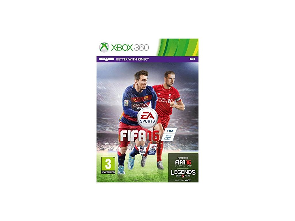 X360 FIFA 16 CZ