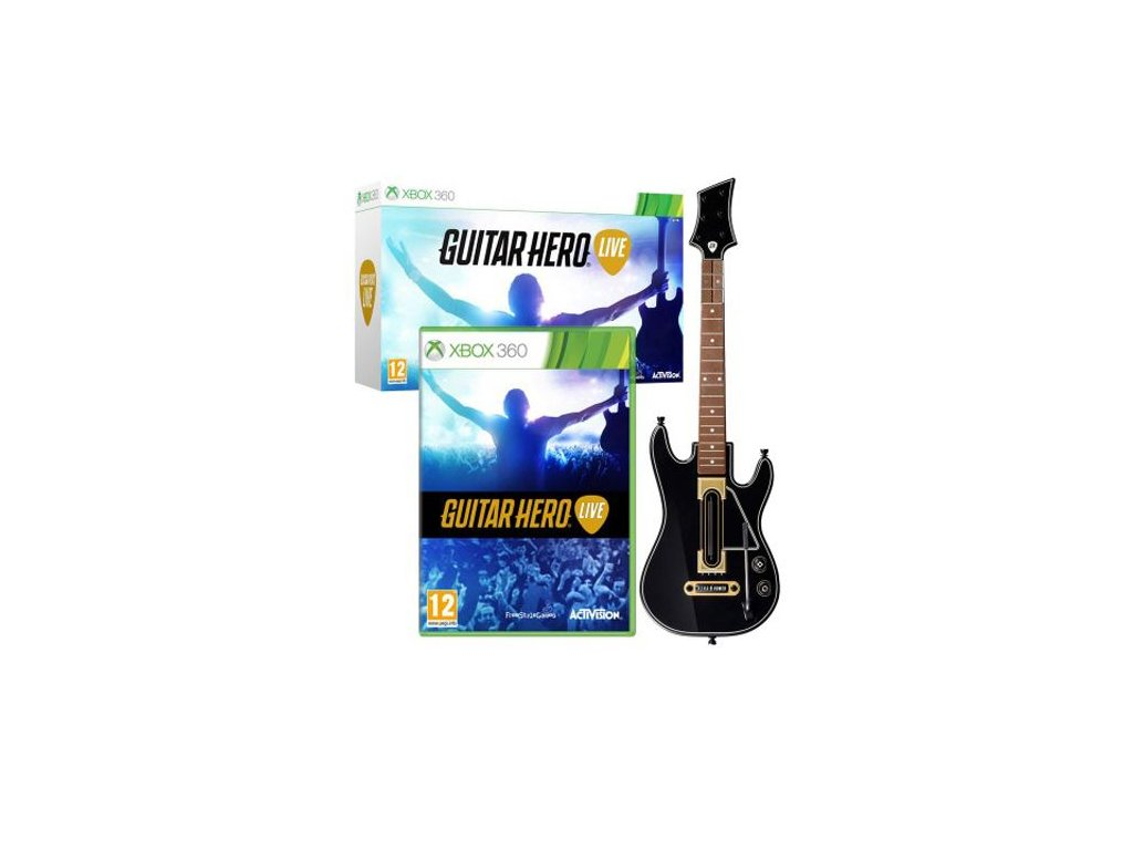 guitar hero live kytara x360