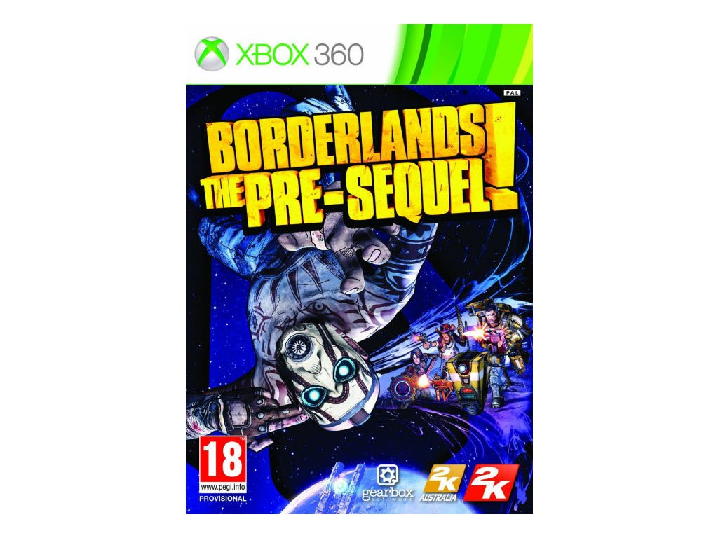 X360 Borderlands The Pre-Sequel!