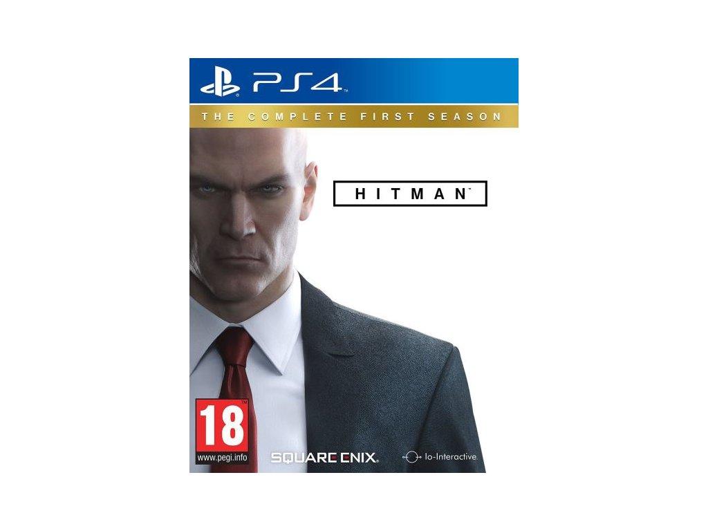 PS4 Hitman The Complete First Season Steelbook