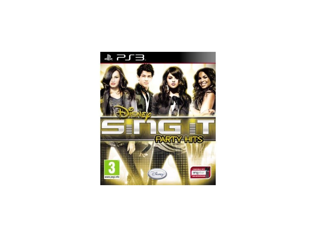 disney sing it party hits ps3