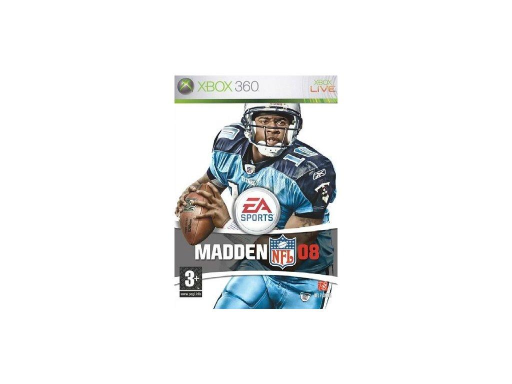 X360 Madden NFL 08