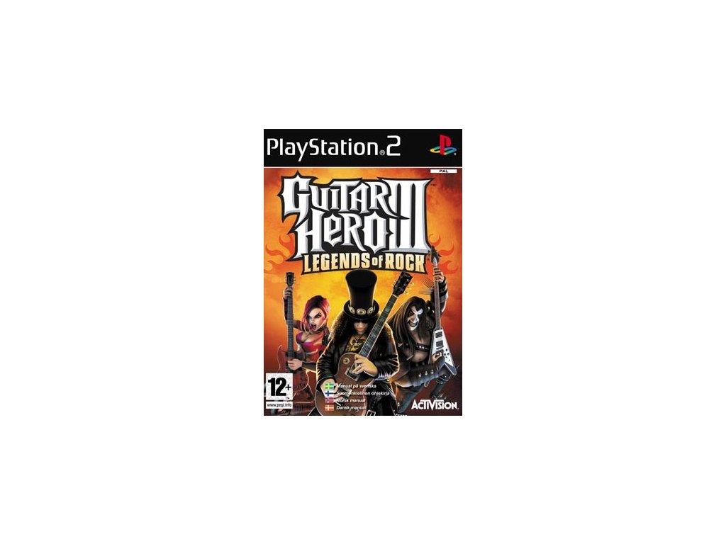 PS2 Guitar Hero 3 Legends of Rock