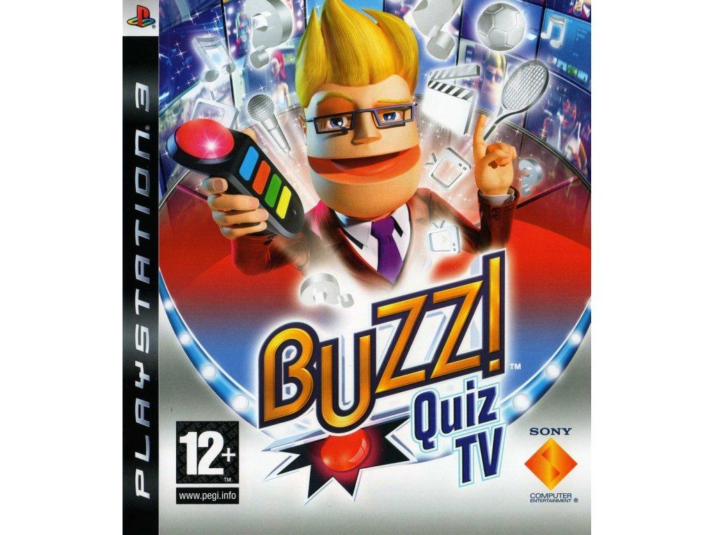 PS3 BUZZ! Quiz TV