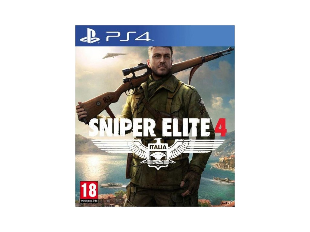 PS4 Sniper Elite 4