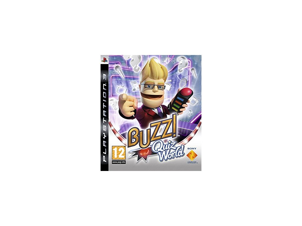 PS3 BUZZ! Quiz World
