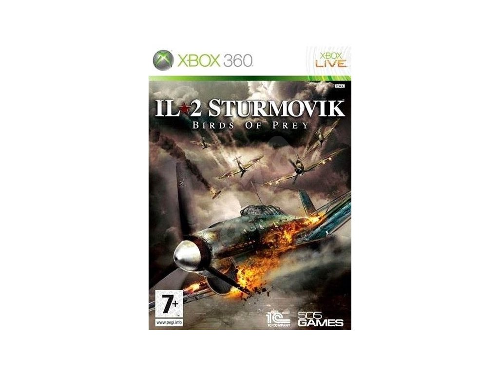 X360 IL-2 Sturmovik Birds of Prey