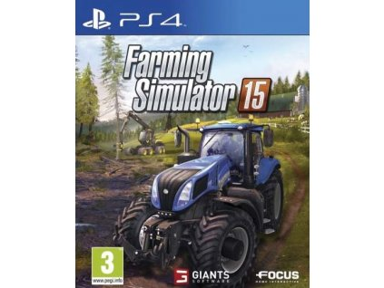 PS4 Farming Simulator 15