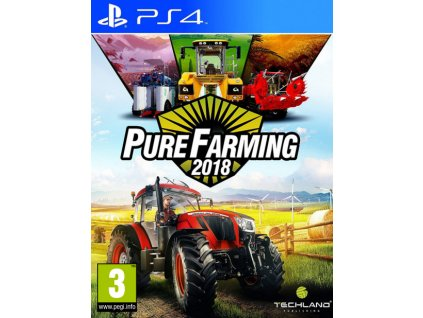 PS4 Pure Farming 2018 CZ