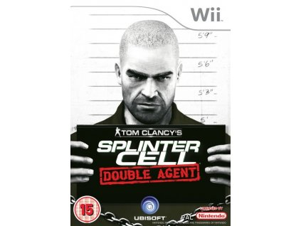 Wii Tom Clancys Splinter Cell Double Agent