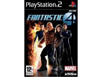 PS2 Fantastic Four