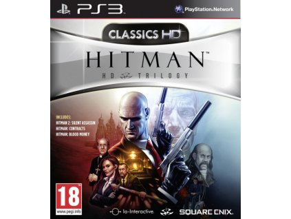 PS3 Hitman HD Trilogy