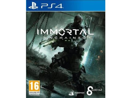 immortal unchained ps4 pouzite